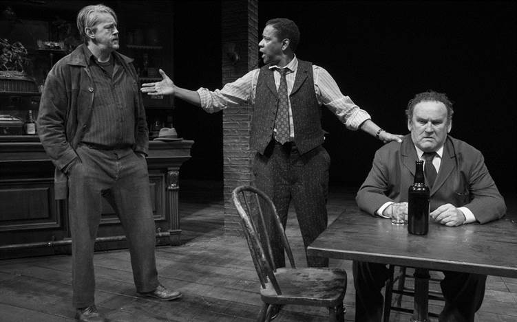 David-Morse, Denzel Washington, and-Colm Meaney in THE ICEMAN COMETH.